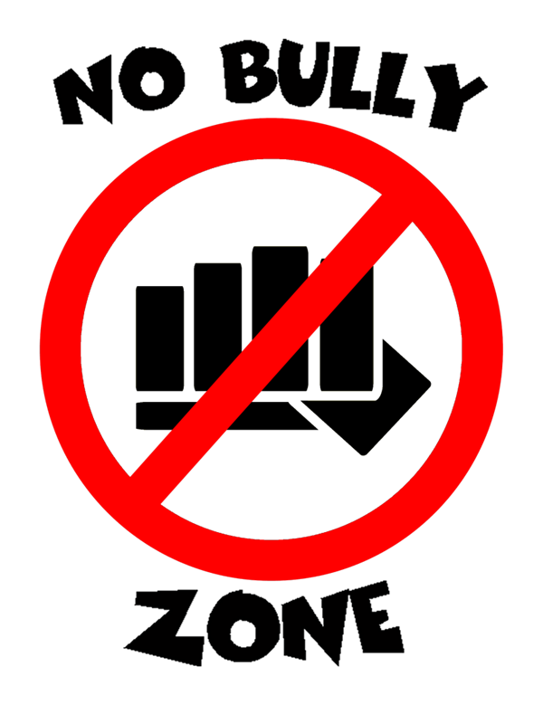No bully sign