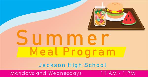summer meal graphic