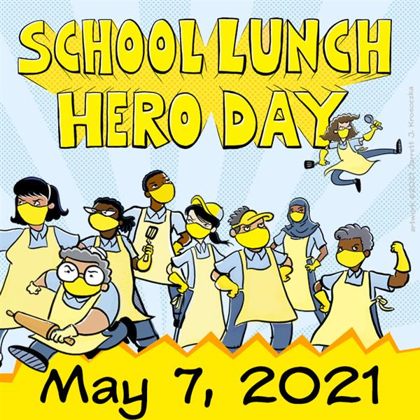 School Lunch Hero Logo